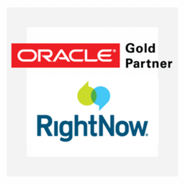 Oracle RightNow Contact Center Experience Logo
